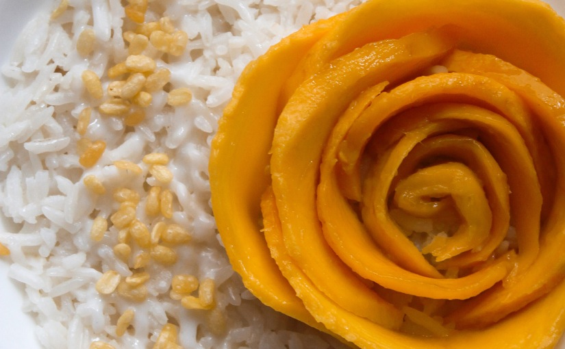 Thai Coconut Sticky Rice withMango